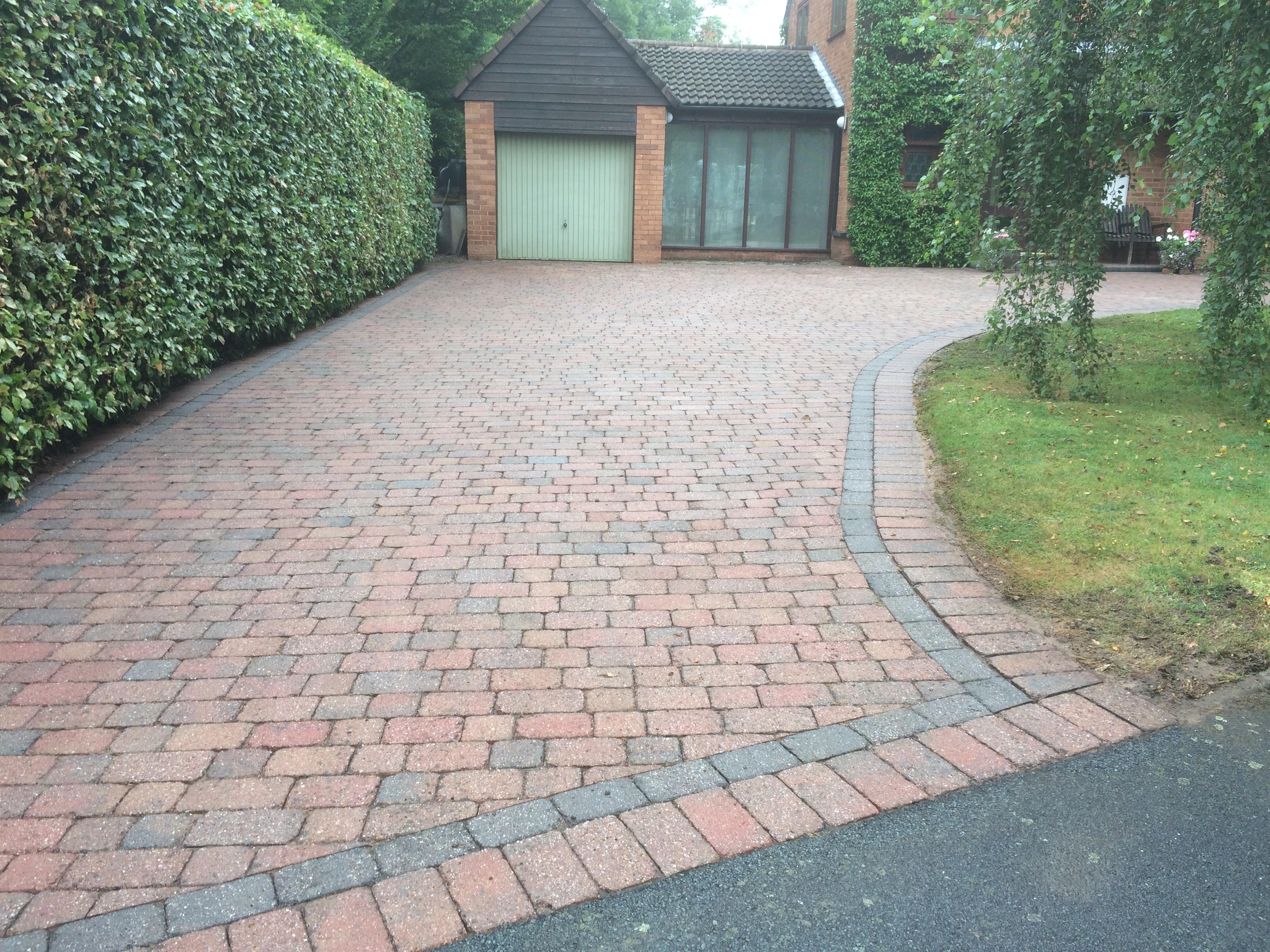 driveway clean Redmarley 001