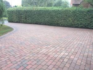 driveway clean Redmarley 002