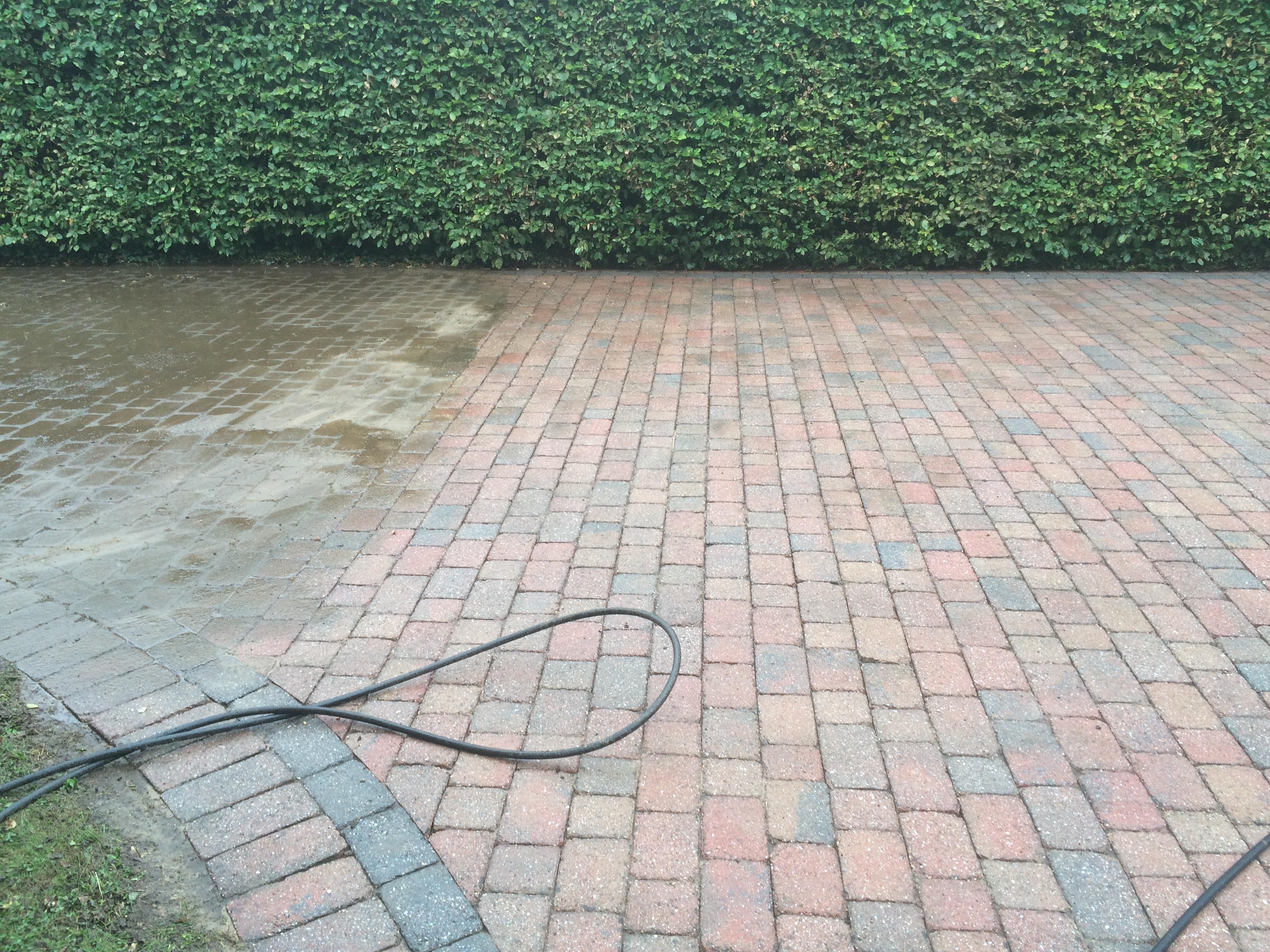 driveway clean Redmarley 003