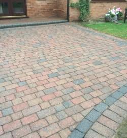 driveway clean Redmarley 004