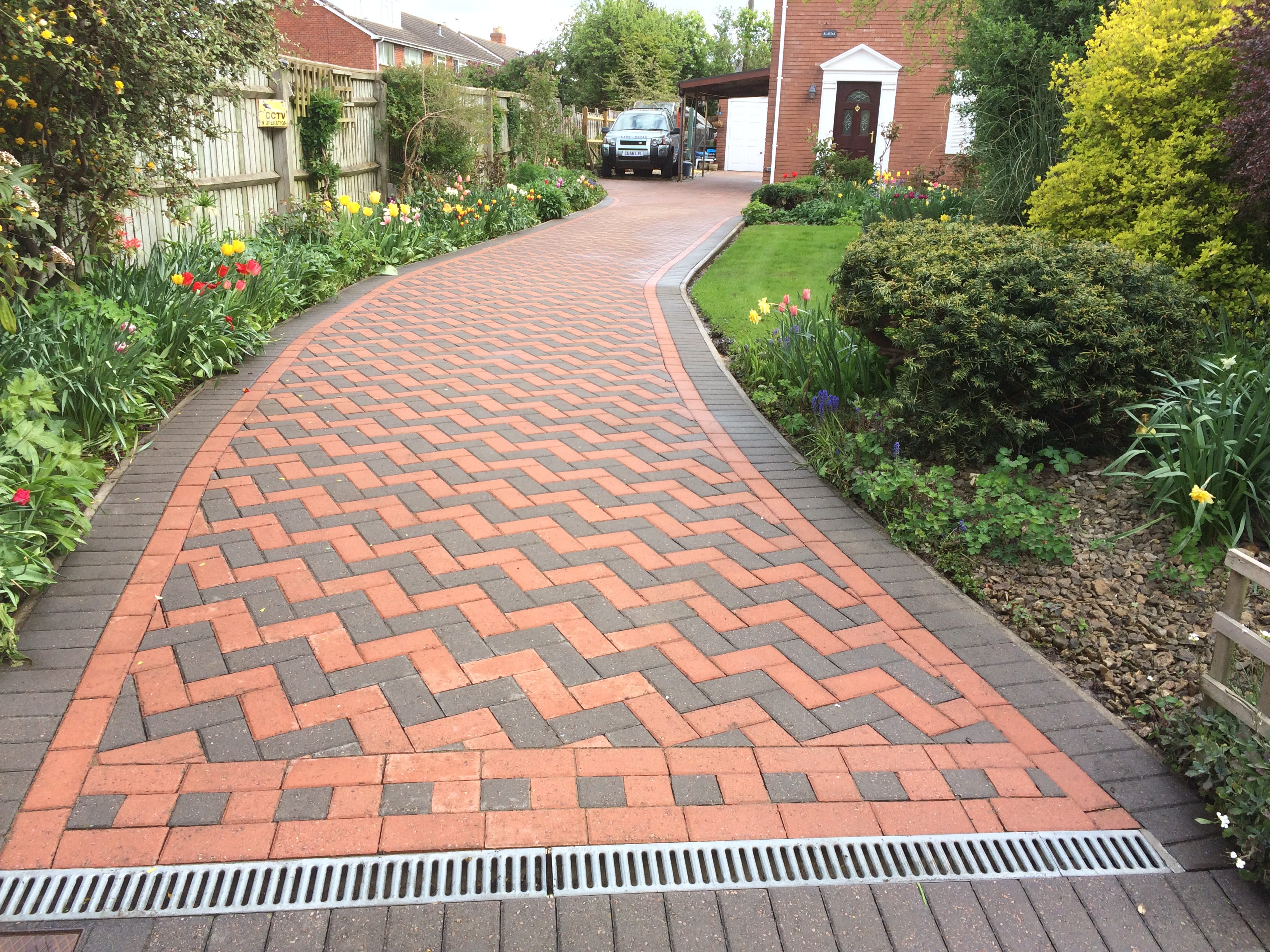 deep cleaned driveway ledbury (7)