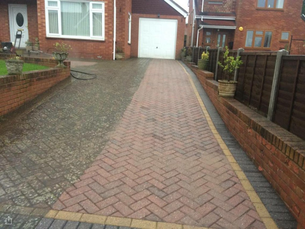 Driveway Amp Block Paving Cleaning Herefordshire Drive