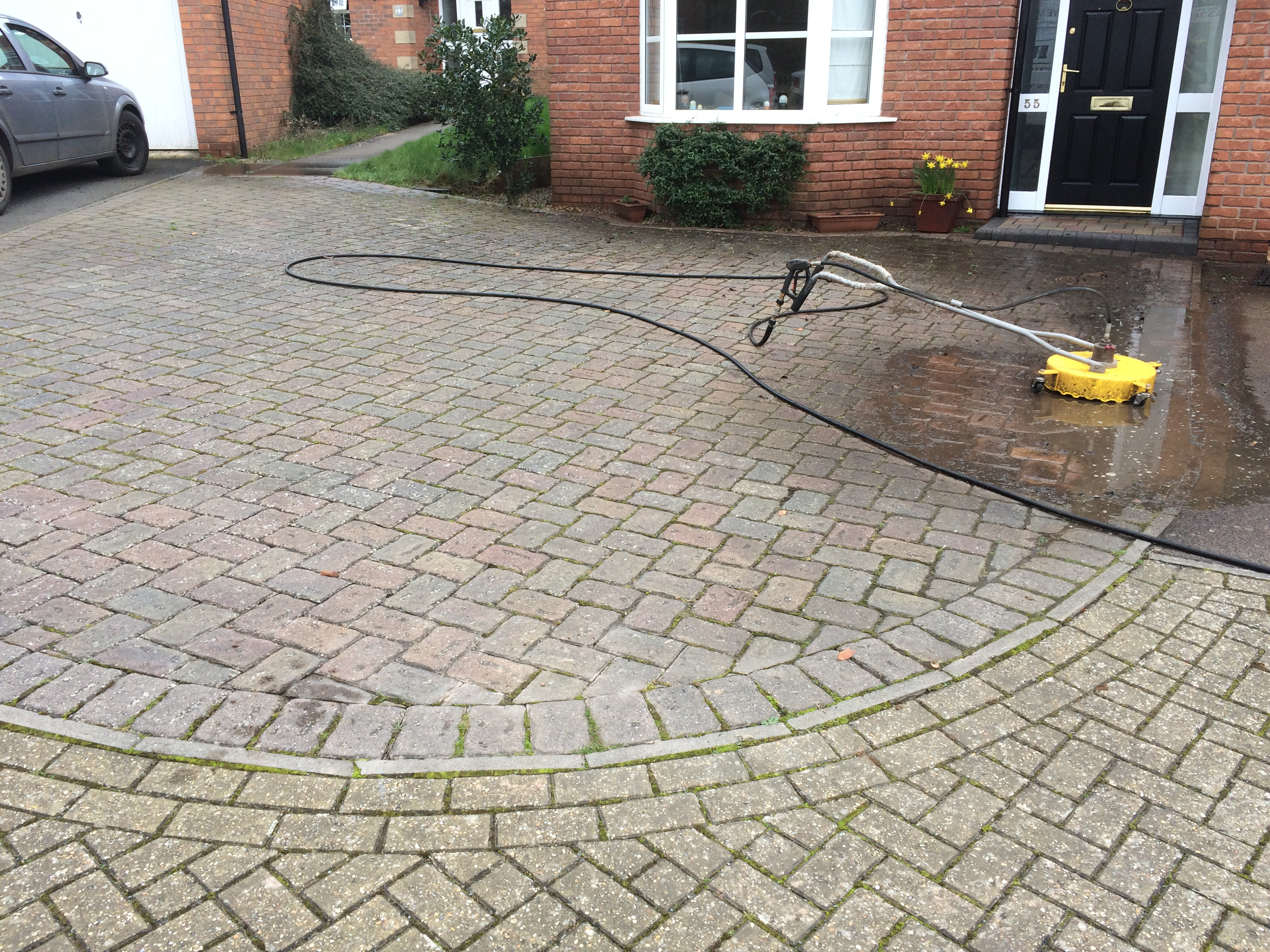 Patio And Driveway Cleaned In Browning Rd Ledbury Drive